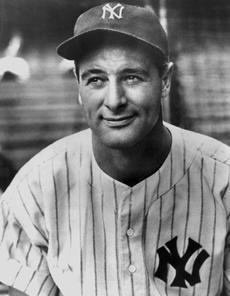 Lou Gehrig (USAToday)