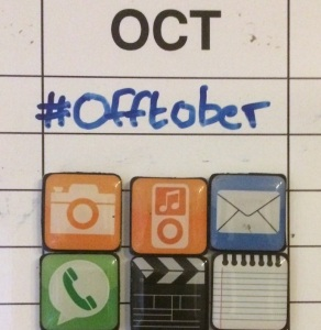 #Offtober Challenge  Turn it off - 8pm-8am